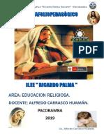 Portafolio Ricardo Palma 2019