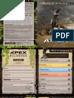 Apex rulebook