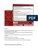 WannaCry Guide Line