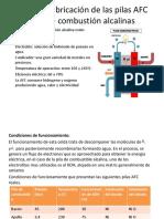 Diseño y Fabricación de Las Pilas AFC Pilas
