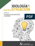 Estrategias de redacción académica