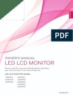 Manual LG 20M45A-B