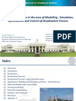PPT on Desalination