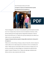 ece 497 week 2 assignment periods of development adolescence fact sheet6
