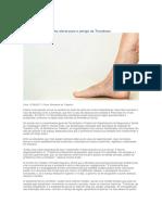 Trombose - Doenças Ocupacionais