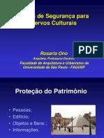 Política de Segurança Para Acervos Culturais