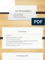 Case Presentation- Delusional Disorder