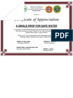Cert for Single Drop