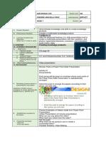 Dlp for Cot Gr.6 Ict
