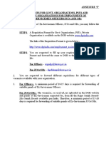 Guidelines for Govt PSU Private Organisation