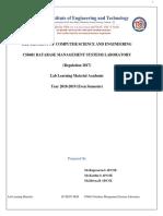 CS8481 Database Management Systems Laboratory Manual IICSEA-converted-converted (1)