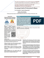 Coping Strategies among Youth of Professional Colleges