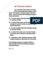Nuclear Chem Exercise