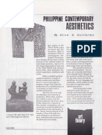 Alice Guillermo Philippine Contemporary Aesthetics 1