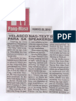 Pang-Masa, June 25, 2019, Velasco nag-text brigade para sa speakership race.pdf