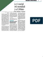 Fake news e social, 50 esperti mondiali fanno il punto a Urbino - Il Resto del Carlino del 24 giugno 2019