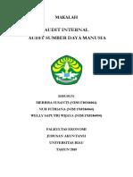 Audit SDM (Human Resource) Fix-1