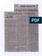 Peoples Journal, June 25, 2019, House okays bill merging agricultural initiatives.pdf