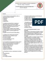Evaluaciones Segundo Periodo 2019 Panfilo Cantillo