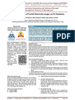 Study on Effects of Social Networks Usage on PG Students