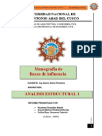 Monografia de Lineas de Influencia