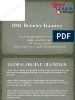 BMC Remedy Training   BMC Remedy ITSM Online Training