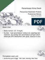 Penyuluhan Prolanis - Kimia Darah - Scribd