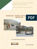 MANUAL PARA ESTUDIO DE TRAFICO MTC