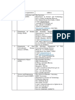 Research Grant Agencies List for Mechanical (1)