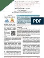 Digital Marketing A Review