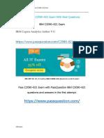 IBM C2090-621 Actual Exam Questions