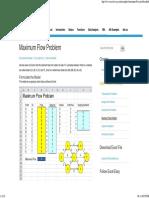 maximum flowin Excel - Easy Excel Tutorial
