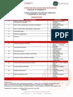 CHE 026 Final Course Outline