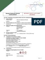 37 1904354835 BenzeneSulphonylChloride CASNO 98-09-9 MSDS