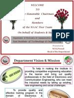 NAAC ECE PPT Presentation