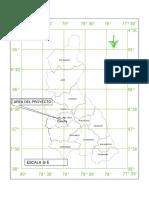 Plano de Ubicación de Catache en Cajamarca