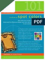 4 – Spot Color and CorelDraw