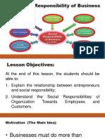 03.1.1 Responsibilities and Accountabilities of Entrepreneurs Towards Emplo