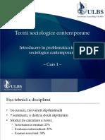 Teorii Sociologice Contemporane Cursuri 01 09