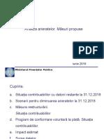 Prezentare_restructurare_program de Conformare Voluntara La Plataa