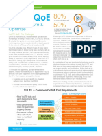 Accedian VoLTE QoE Establish Assure Optimize Solution Brief