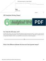 GRE Analytical Writing (Essay) - Magoosh GRE Blog