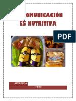 Proyecto La Comunicación Es Nutritiva