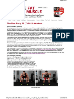 Http Burnthefatfeedthemuscle.com the New Body 28 Workout