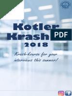Kotler Krasher 2018