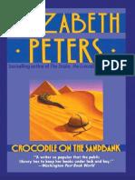 Elizabeth Peters - Peabody 01 - Crocodiles On The Sandbank.epub