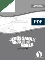 JESÚS SANA AL HIJO DE UN NOBLE © Calvary Curriculum