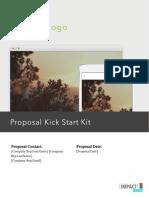 Kick Start Sample Proposal