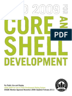 LEED 2009 for Core and Shell Development