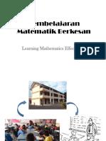 Tajuk 1 Pembelajaran Berkesan